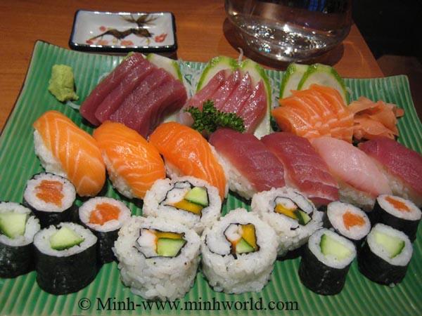 Sushi 2 đứa