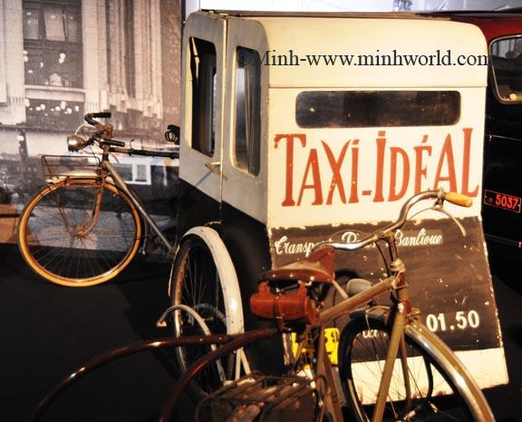 Triễn lãm xe Taxi tại Paris 2008