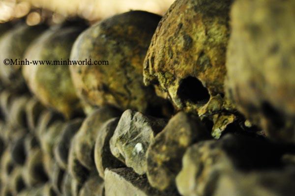Catacomb-Hầm mộ dưới lòng thành phố Paris(Phần 2)