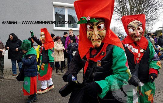 Lễ hội hóa trang Carnival ở Đức 2018 Kartung