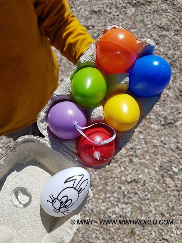 Tìm trứng trong ngày lễ phục sinh tại Pháp